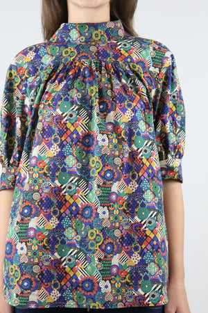 Beverly Blouse: World's Collide