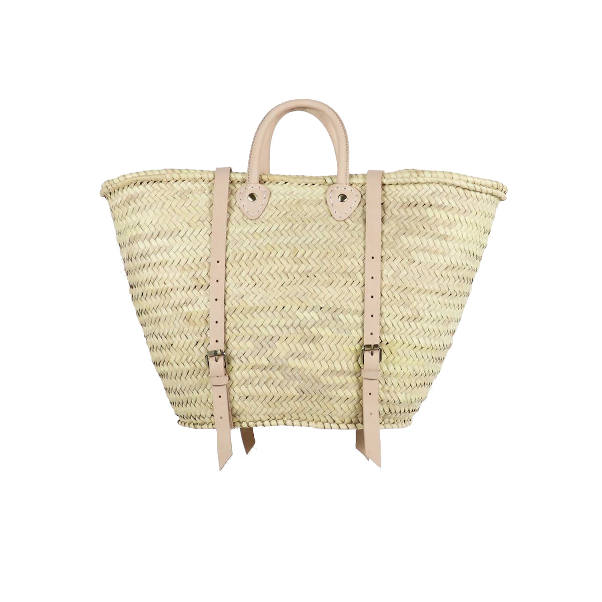Straw Market Backpack