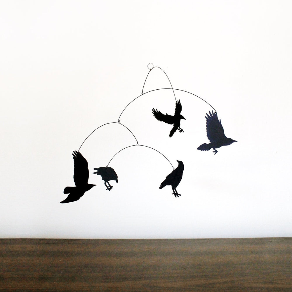 Nevermore Hanging Mobile