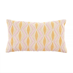 Spring Zigzag Woven Pillow