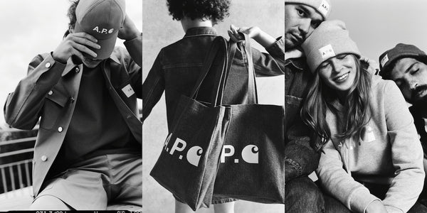 A.P.C. x Carhartt-WIP I SS20 Capsule Collection