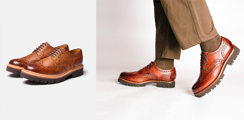 Grenson Archie Brogue Brown
