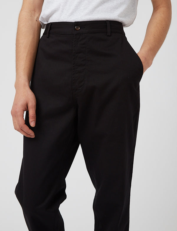 Universal Works Military Chino - Black