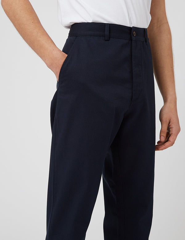 Universal Works Military Chino - Navy Blue