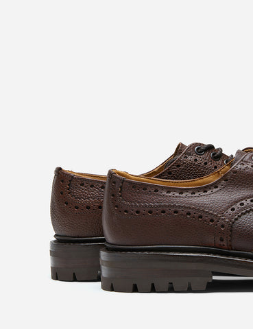 Tricker's Ilkley Country Shoe - Zug Grain Brown