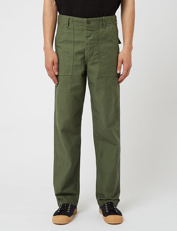 orSlow US Army Fatigue Pants - Grün
