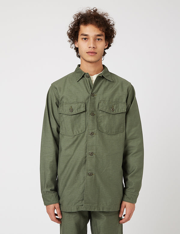 orSlow US Army Shirt - Grün