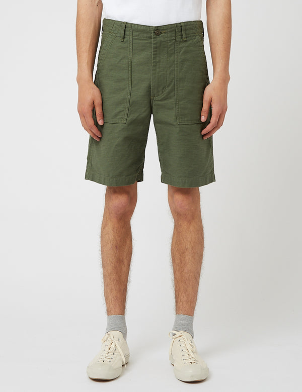 orSlow US Army Fatigue Shorts - Grün