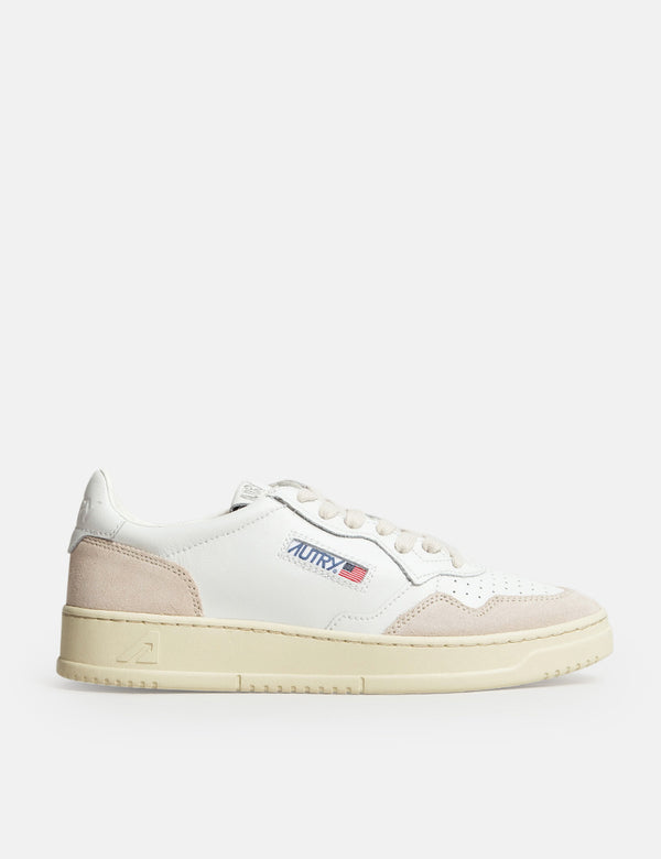 Autry Medalist LS33 Trainers (Leather/Suede) - White