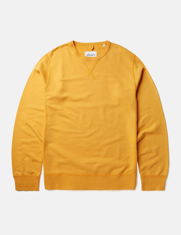 Albam Classic Sweatshirt - Beeswax Yellow - Article