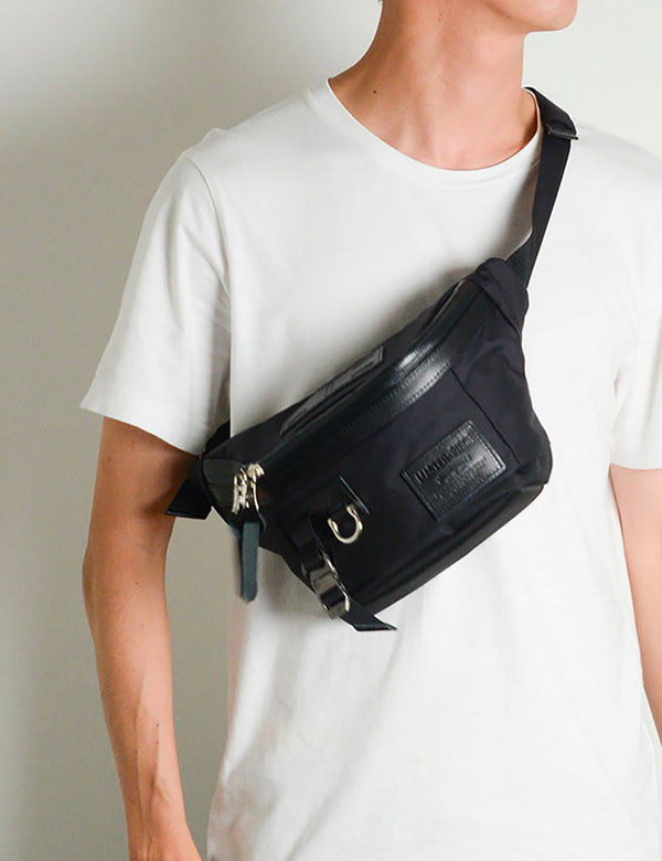 Master-Piece Potential Ver.2 Waist Bag (01754-v2) - Black