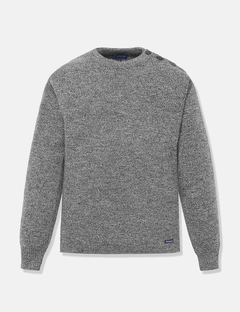 Armor Lux Foursnant Knit Jumper - Grey - Article