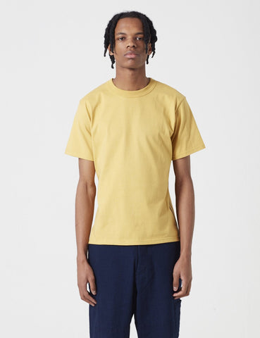 Armor Lux Callac T-Shirt - Mustard Yellow - Article