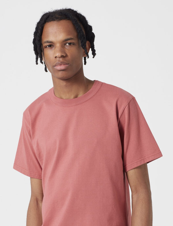 Armor Lux Callac T-Shirt - Rust Red - Article