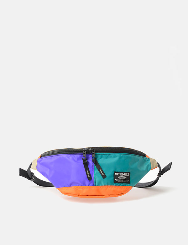 Sac Banane Master-Piece Rush (02220) - Violet/Turquoise/Orange