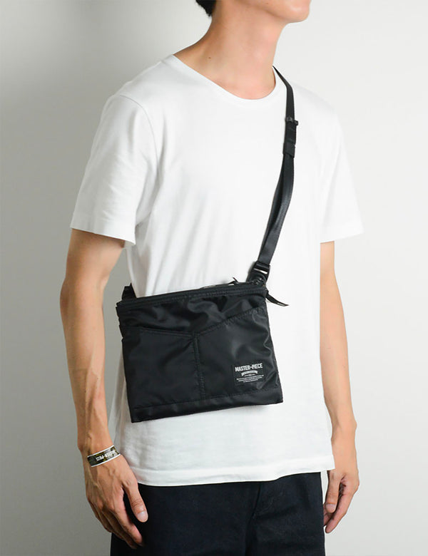 Master-Piece Rush Side Bag (02221) - Black