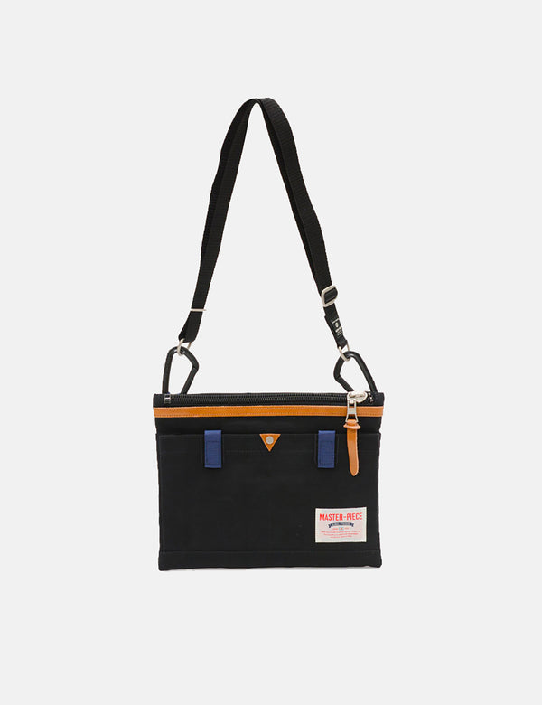 Master-Piece Link Sacoche Side Bag (02343) - Black