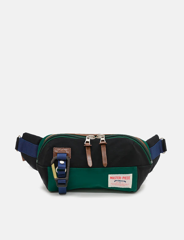 Master-Piece Link Waist Bag (02346) - Green/Black
