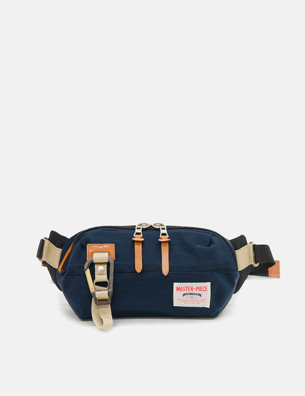 Master-Piece Link Waist Bag (02346) - Navy Blue
