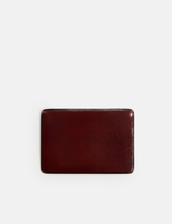 Il Bussetto Small Card Holder (Leather) - Bordeaux