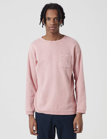 Manastash Honeycome Snug Thermal Sweatshirt - Pink