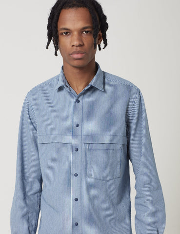 Manastash O.D Work Shirt - Navy Blue