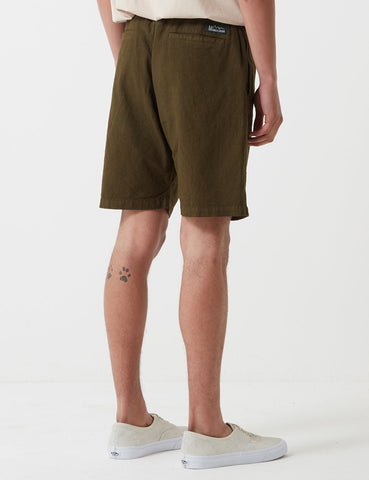 Manastash Hemp Shorts - Olive Green