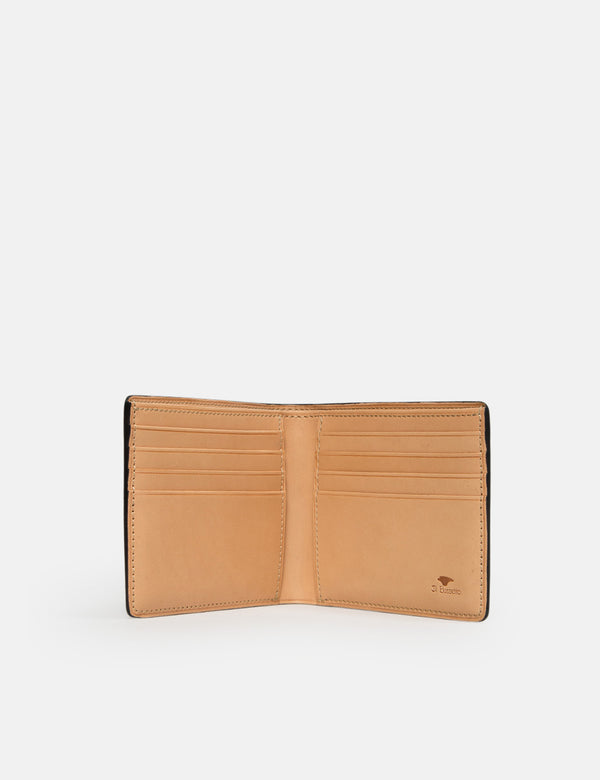Il Bussetto Bi-Fold Wallet (Leather) - Evergreen