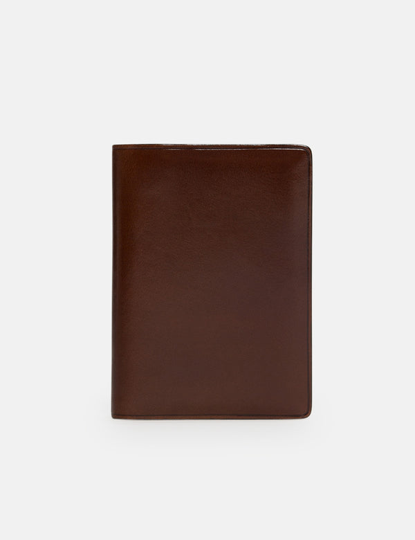 Il Bussetto Bi-Fold Wallet (Leather) - Multi Brown