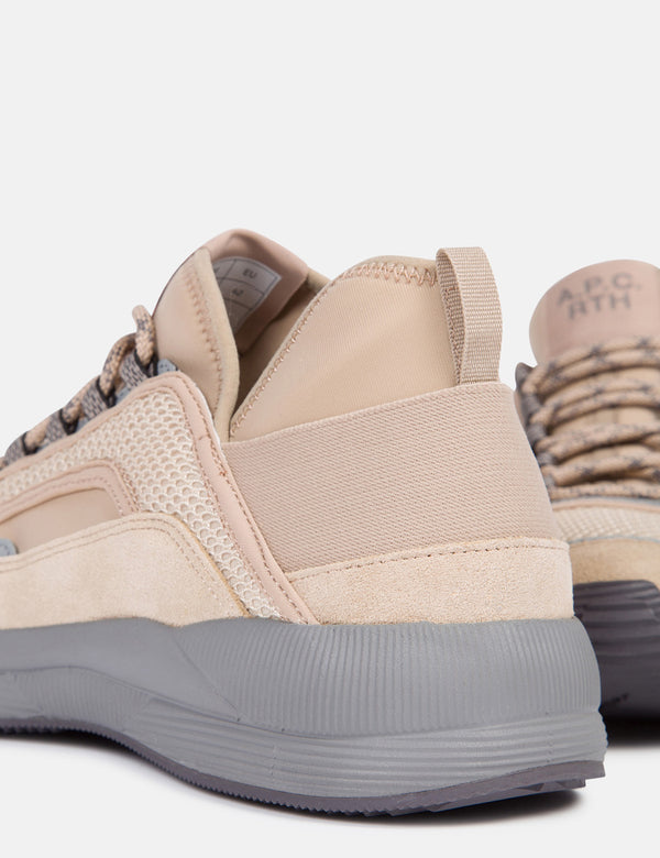 A.P.C Run Around Sneakers - Beige