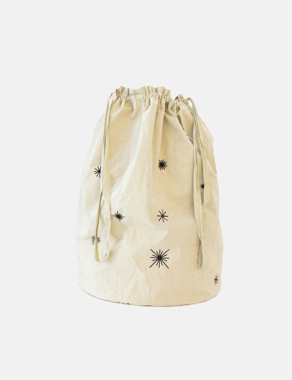 Ferm Living Star Christmas Bag - Naturel