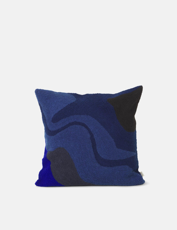 Ferm Living Vista Cushion - Dark Navy