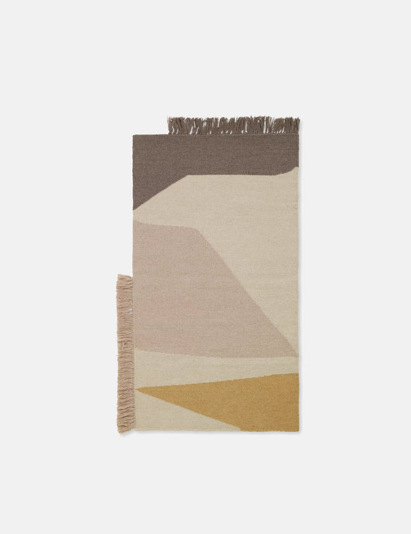 Ferm Living Kelim Mat (50x70cm) - Earth