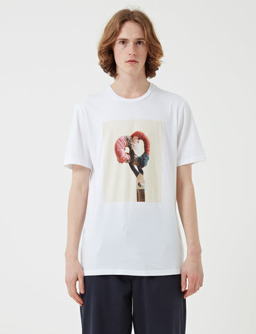 Albam Shears T-Shirt - Optic White - Article