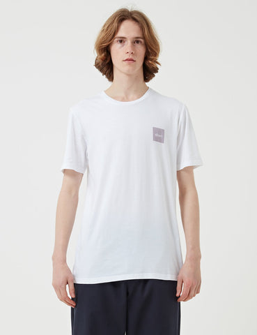 Albam Decade T-Shirt - Optic White / Lavender Print - Article