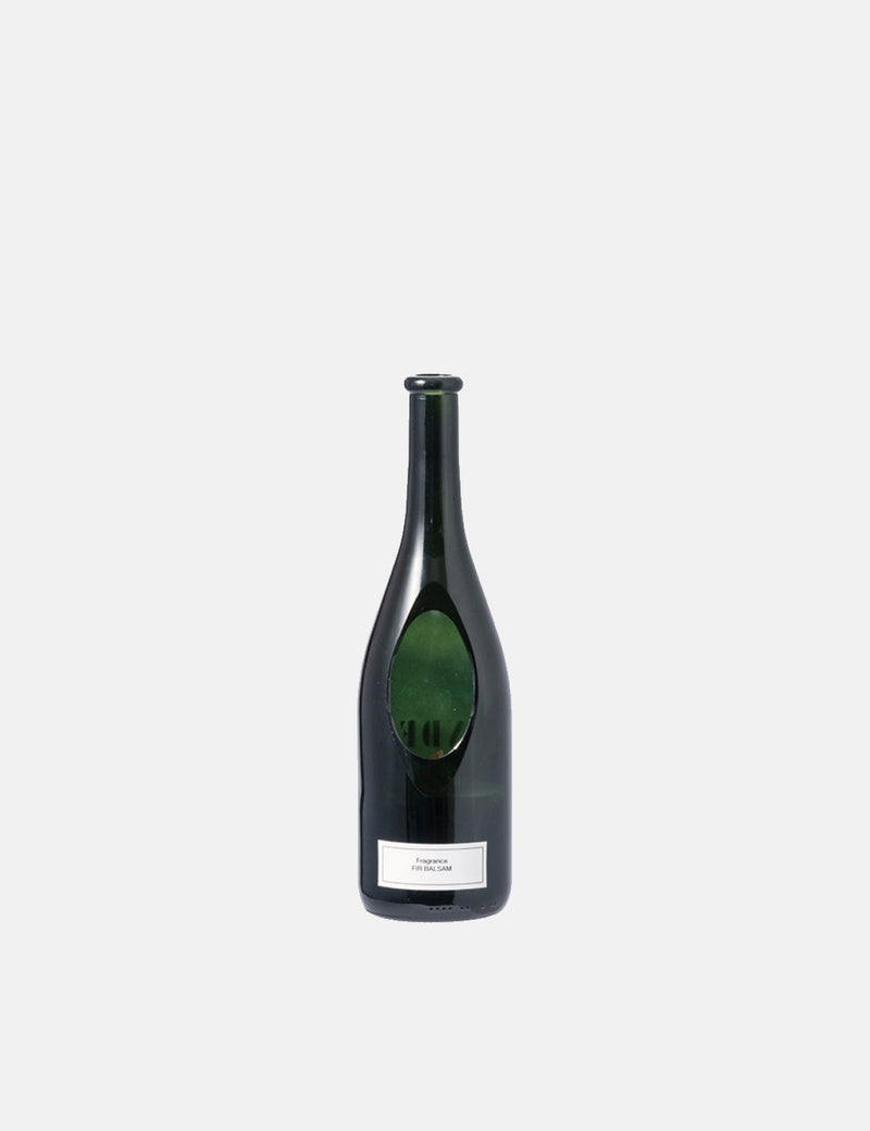 Puebco Wine Bottle Candle - Fir Balsam