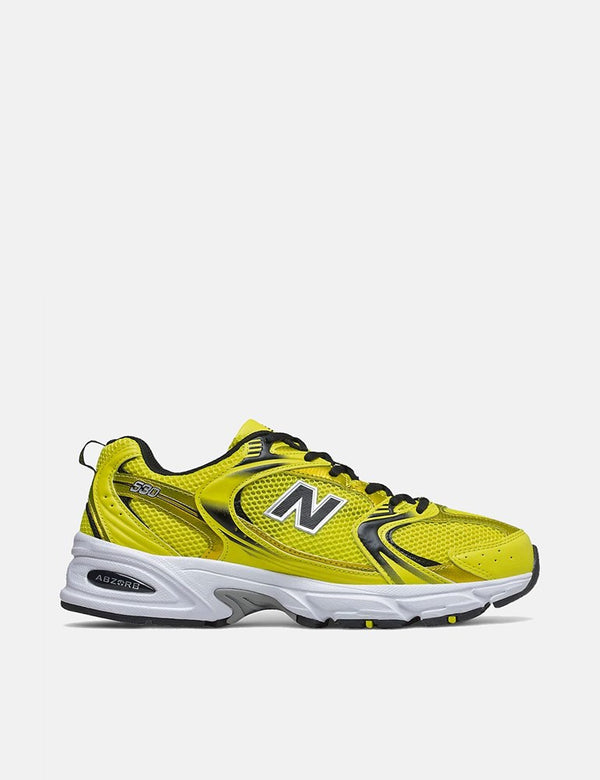 New Balance 530 Baskets (MR530SE) - Jaune Soufre/Noir