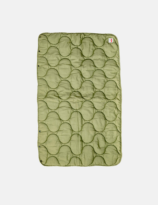 Puebco Quilted Wrap Blanket - Green