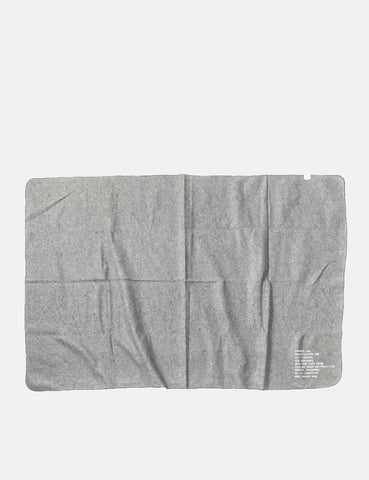 Puebco Cotton Wool Felted Blanket - Grey