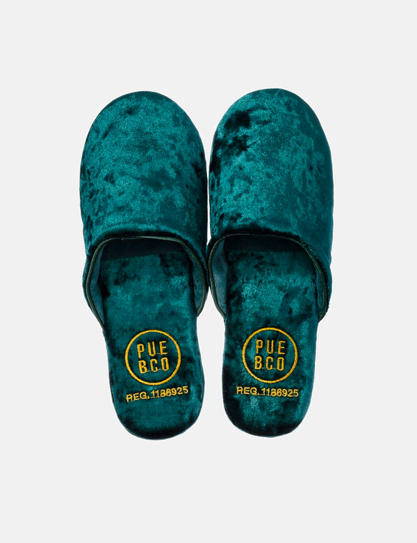 Puebco Velvet Slipper - Green