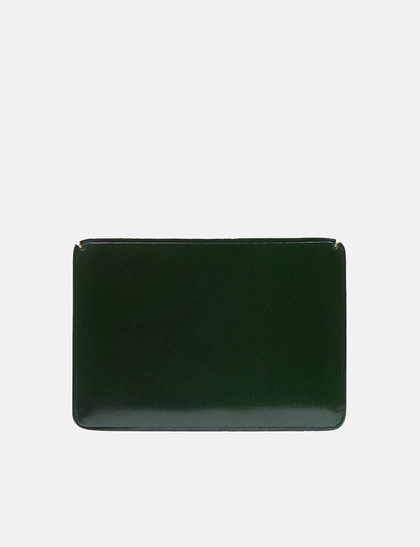 Il Bussetto Small Card Holder (Leather) - Forest Green