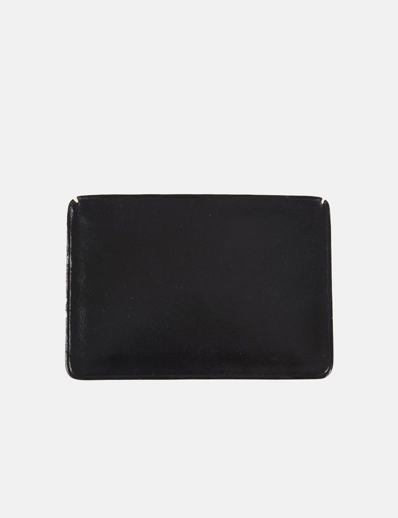 Il Bussetto Small Card Holder (Leather) - Black