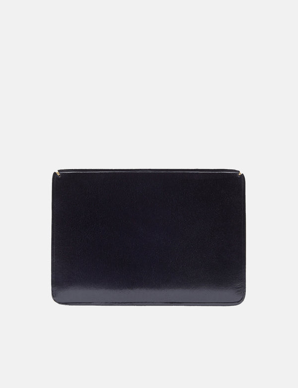 Il Bussetto Small Card Holder (Leather) - Navy Blue