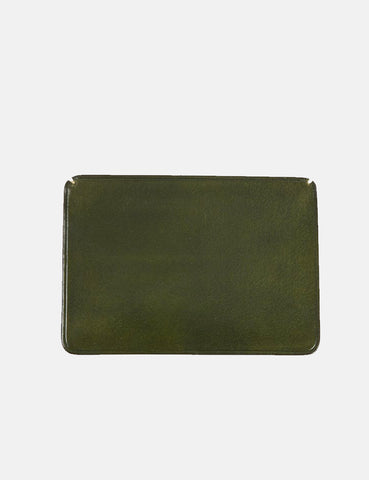 Il Bussetto Small Card Holder (Leather) - Dark Green