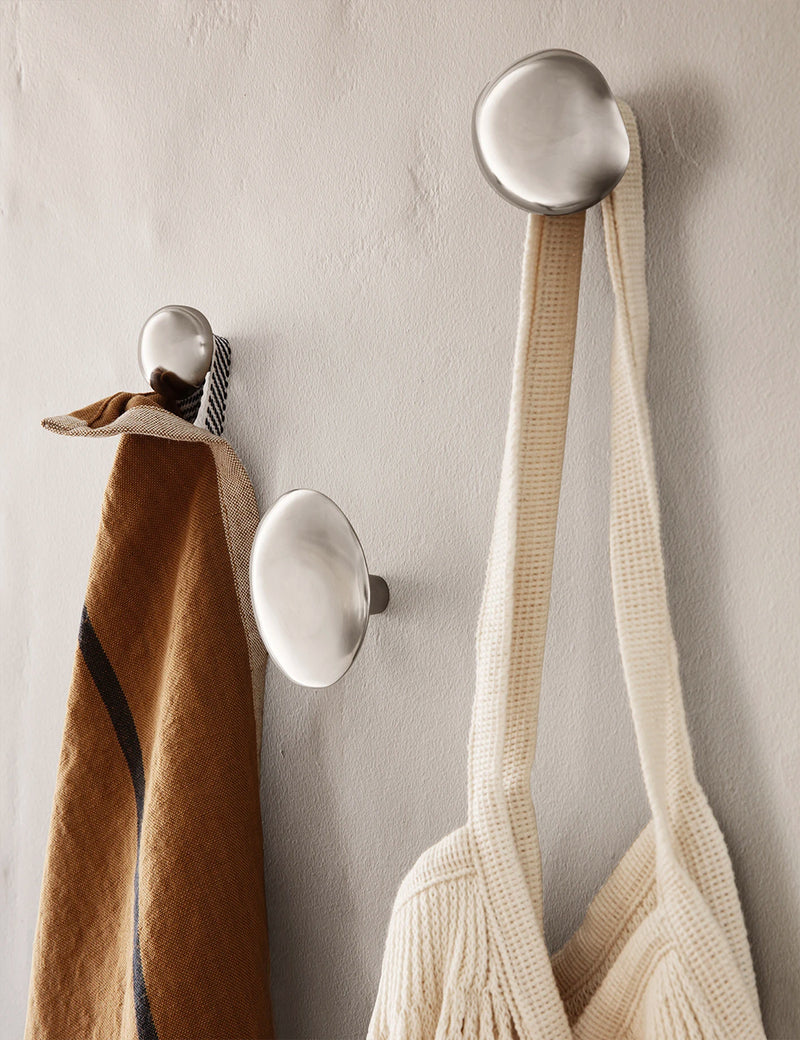 Ferm Living Chanterelle Hook - Stainless Steel