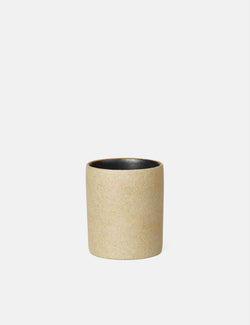 Ferm Living Bon Accessories Petite Cup - Black/Stone