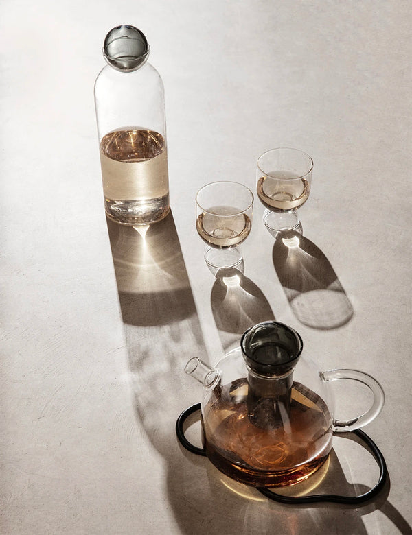 Ferm Living Still Carafe (Glass) - Clear