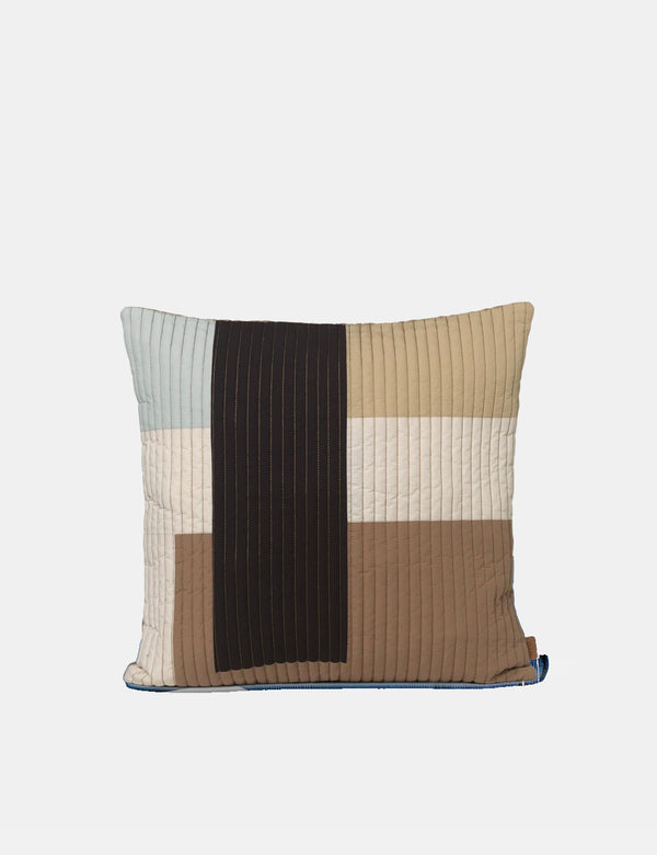 Ferm Living Shay Quilt Cushion (50x50cm) - Desert