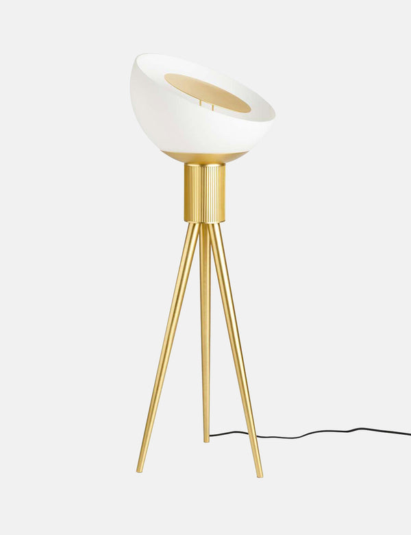 101 Copenhagen Moonraker Floor Lamp - Brass