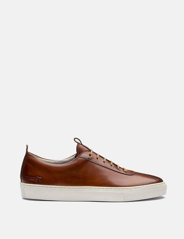 Grenson Sneakers No.1 (Leather) - Tan